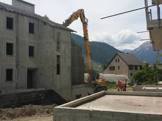 Demolition logement – Guillestre