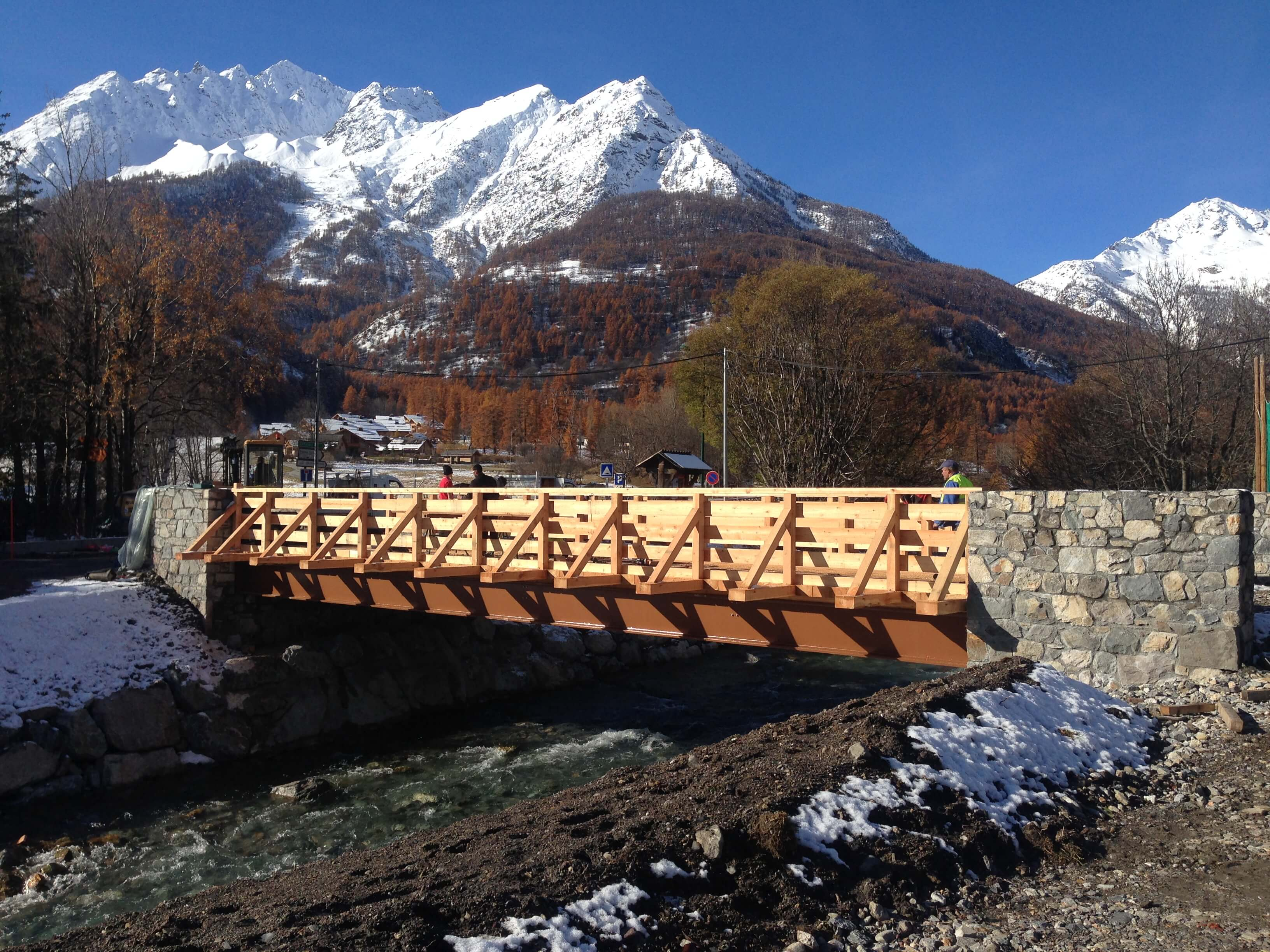Pont – Monetier Les Bains
