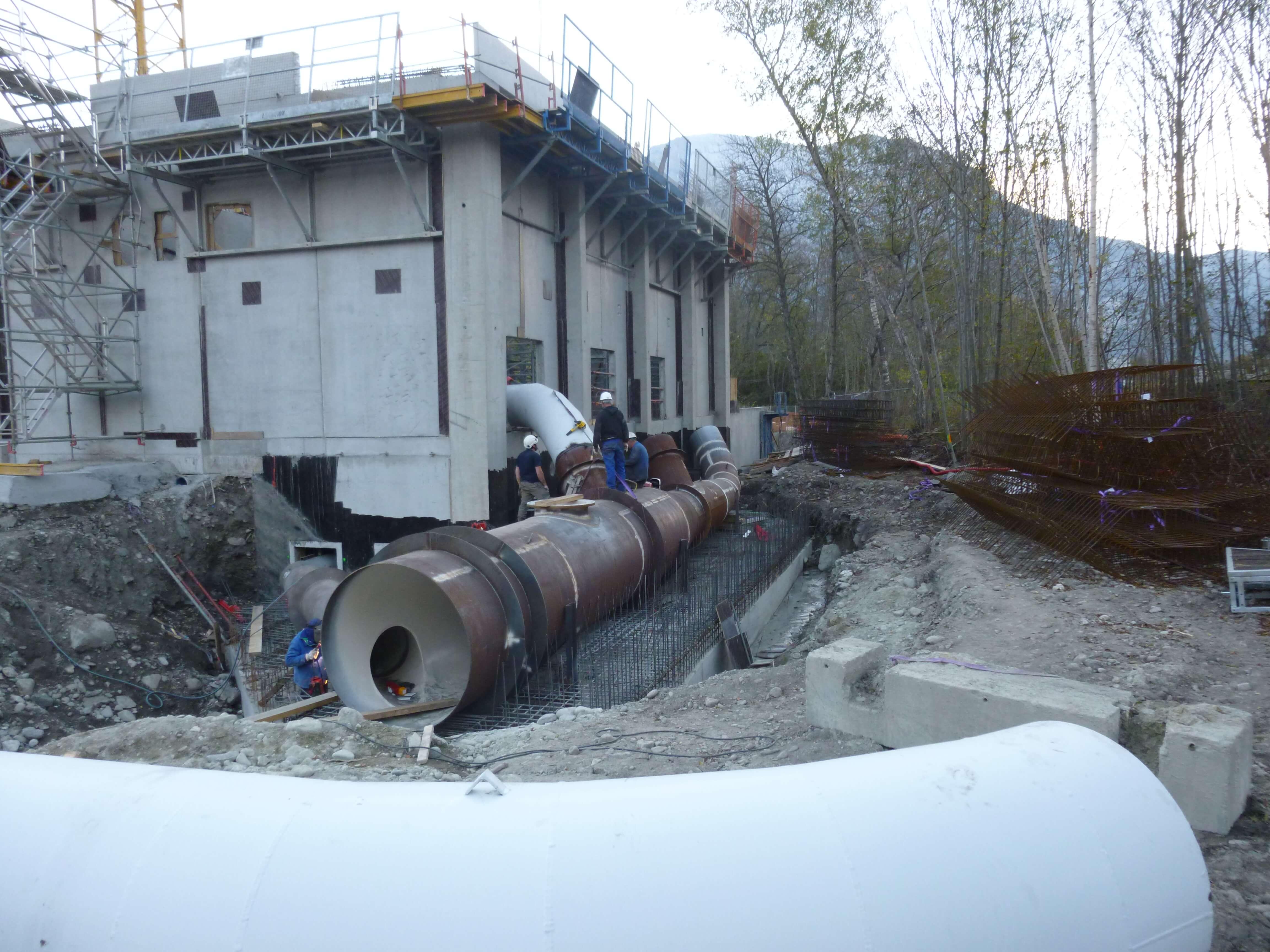 Centrale hydroelectrique – St Firmin