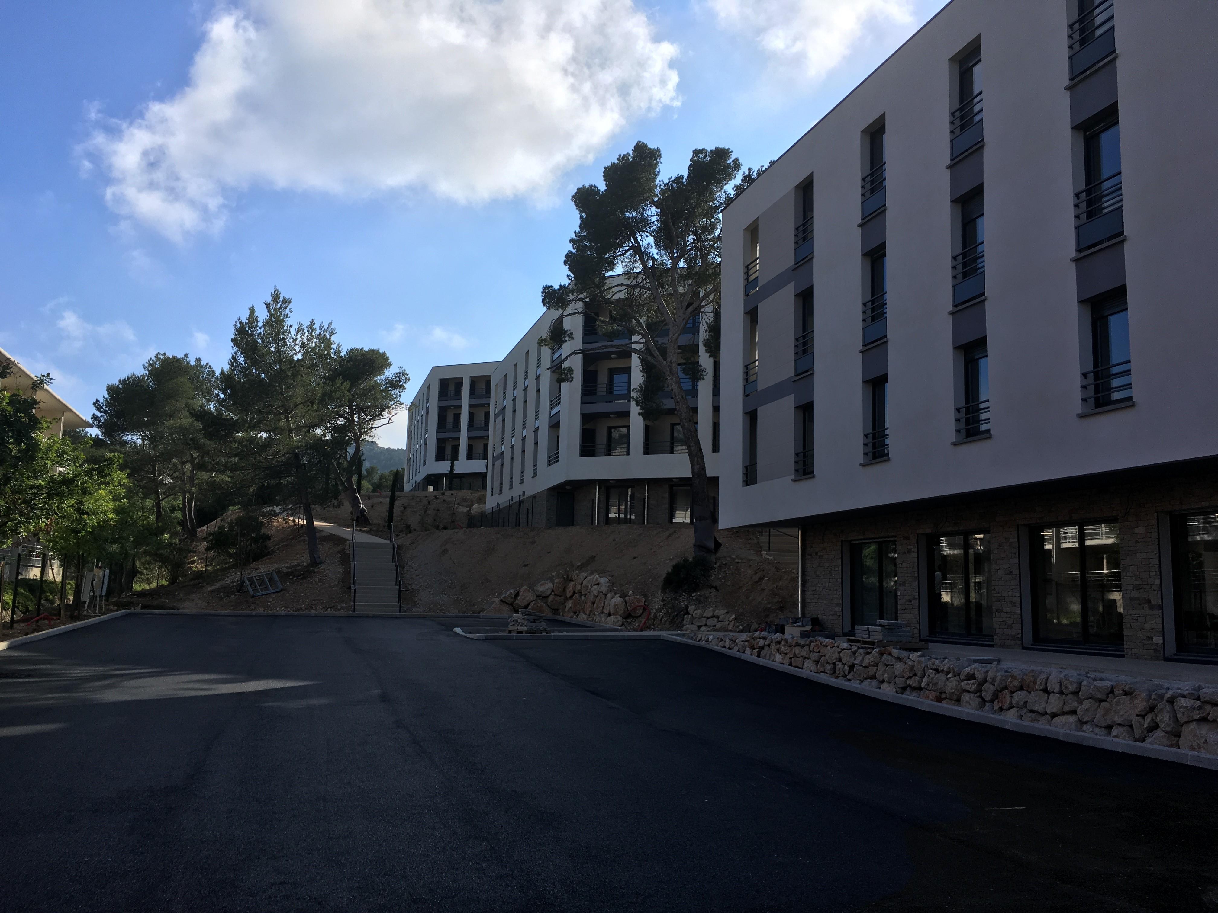 Terrassement et réseaux campus – Luminy