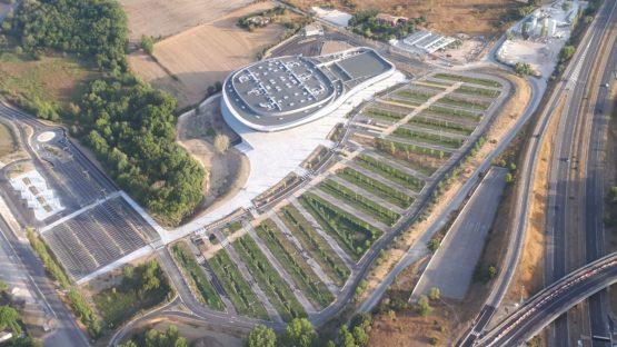 Palais des sports de l'Arena à Aix en Provence – LIVRAISON