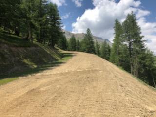 Refection piste de ski – Les Crêtes – Pelvoux