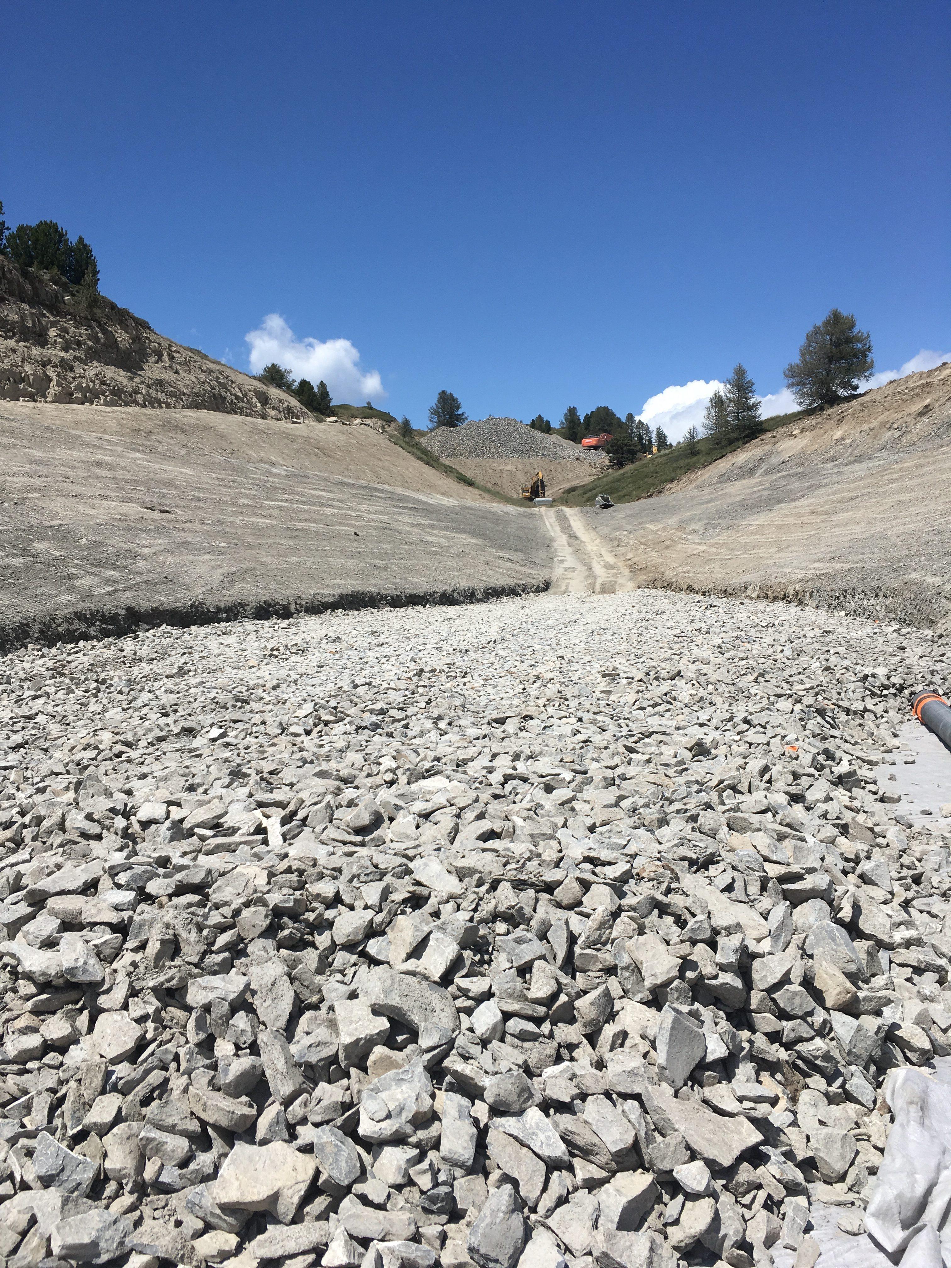Réserve colineaire Peynier – Vars – AVANCEMENT