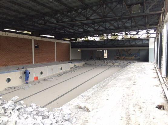 R novation h pital embrun allamanno - Piscine municipale aix en provence ...